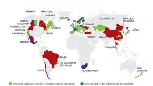 Emissions Trading Around The World Source: World Bank Group